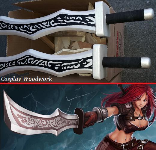 alljobsitaly e cosplay woodwork